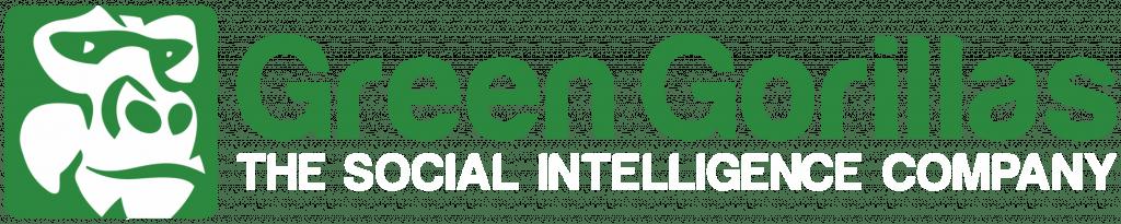 Green gorillas logo wide white txt final