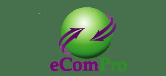 eCom Pro website Logo wordpress wo shadow