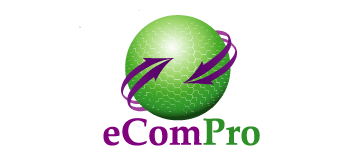 eCom Pro website Logo wordpress wo shadow